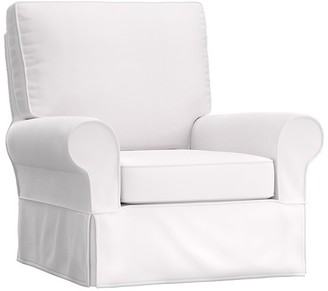 Pottery Barn Kids PB Kids Grand Slipcovered Comfort Swivel Glider, In-Stock
