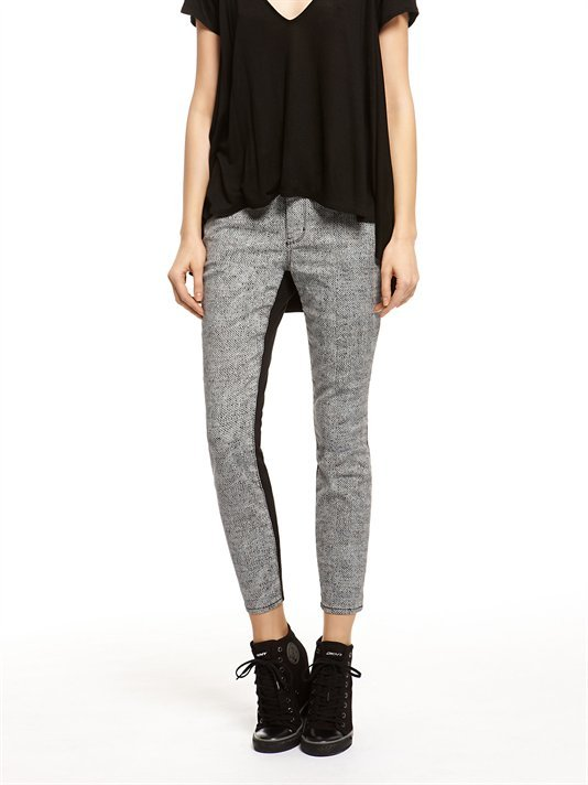 DKNY Tiny Triangles Color Block Jegging