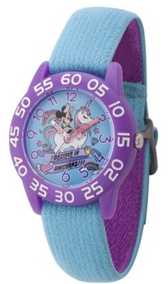 Disney Minnie Mouse Girls' Purple Watch, 1-Pack