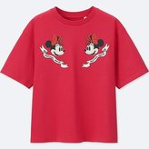 Uniqlo Women's Disney (minnie Mouse Loves Dots) Short-sleeve Graphic T-Shirt