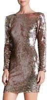 Dress the Population 'Lola' Backless Sequin Minidress