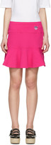 Kenzo Pink Tiger Crest Miniskirt