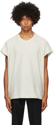 Homme Plissé Issey Miyake Grey Release-T1 Cap Sleeve T-Shirt