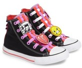 Converse Girl's Chuck Taylor All Star Loopholes Emoji High Top Sneaker