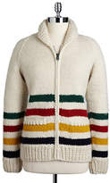 HBC Hudson'S Bay Company Hand Knit Wool Sweater
