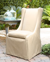Horchow Outdoor Upholstered Chair