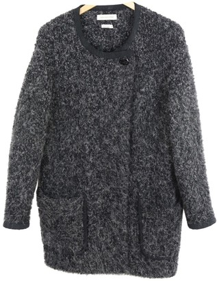 Etoile Isabel Marant Grey Cotton Coat for Women