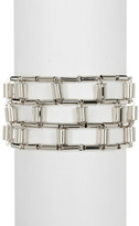 Botkier 3-Row Open Line Bracelet