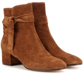 Gianvito Rossi Moore suede ankle boots