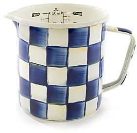 Mackenzie Childs MacKenzie-Childs Royal Check 7-Cup Measuring Cup
