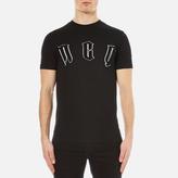 Mcq Alexander Mcqueen Short Sleeve Crew Neck Mcq Tshirt - Darkest Black