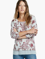 Lucky Brand Mosaic Print Pullover Sweater