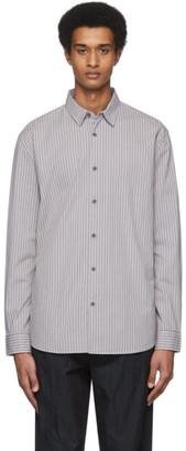 Robert Geller Grey The Stretch Dress Shirt