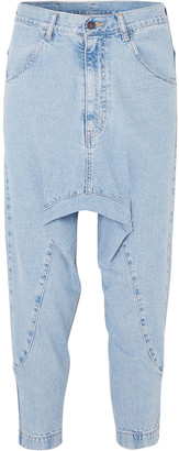 Bassike Super Lo Slung Cropped Jeans