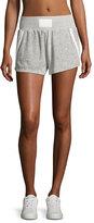 Heroine Sport Ultra Plush Sport Shorts, Silver