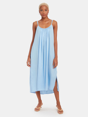 XiRENA Rhode Pleated Scoop Neck Midi Dress