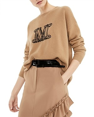 Max Mara Cannes M Graphic Sweater