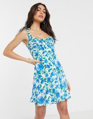 Fashion Union mini dress in floral print