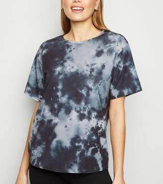 New Look Carpe Diem Tie Dye Oversized T-Shirt