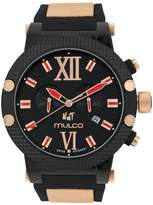Mulco Men's Nuit MW3-11010-026 Silicone Swiss Quartz Watch