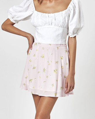 Charlie Holiday Women's Pink Skirts - Willow Skirt - Size One Size, L at The Iconic