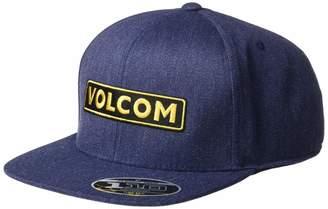 Volcom Men's BARTAR Flexfit SNAP-Back HAT