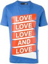 Love Moschino love print T-shirt