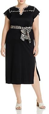 Marina Rinaldi Oleum Jersey Dress