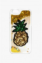 Select Fashion Fashion Womens Yellow Pineapple Badge Glitter Iphone 6 Case - size One