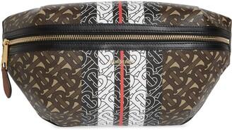 Burberry Medium Sonny E-Canvas Belt Bag