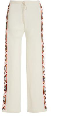 Madeleine Thompson Women's Cashmere Drawstring Sweatpants - White - Moda Operandi