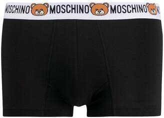 Moschino Logo Waistband Boxer Briefs