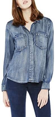 Isa Belle Colorado Denim Women's Isabelle Shirt, (Medium Blue)
