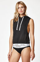 Calvin Klein Modern Cotton Sleeveless Hoodie