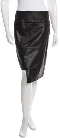Tibi Leather Skirt w/ Tags