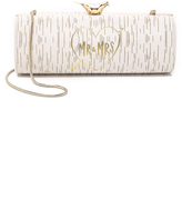 Kate Spade Wedding Belles Mr. & Mrs. Log Clutch