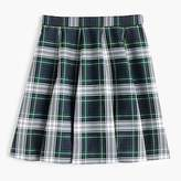 J.Crew Full mini skirt in tartan plaid