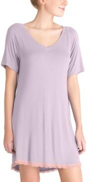 Honeydew Lace-Trim Sleep Shirt