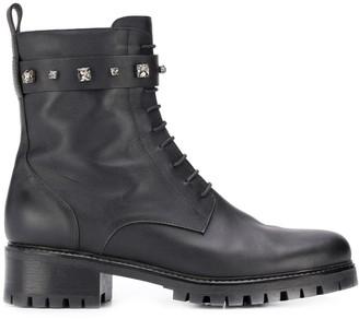 Fabiana Filippi Studded Boots