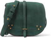 Jerome Dreyfuss Victor embellished suede shoulder bag