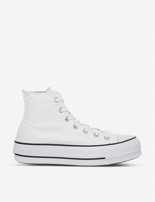 Converse All Star Lift high-top flatform trainers