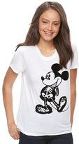 Disney Disney's Mickey Mouse Juniors' Skeleton Graphic Tee