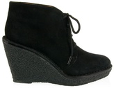 Marc by Marc Jacobs Suede wedge ankle boot