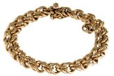 Tiffany & Co. 14K Spiral Link Bracelet