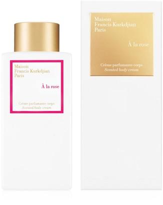 Francis Kurkdjian A la rose Scented body cream
