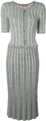Altuzarra Cassidie button-front midi dress