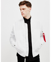 Alpha Industries MA-1 TT Bomber Jacket White white