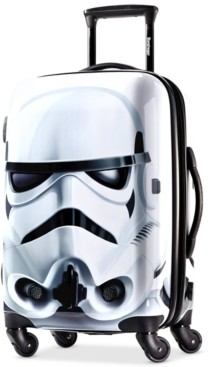 "American Tourister Star Wars Stormtrooper 21"" Hardside Spinner Suitcase"