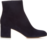 Gianvito Rossi Margaux block-heel suede ankle boots
