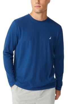Nautica Men's Long-Sleeve Sleep T-Shirt